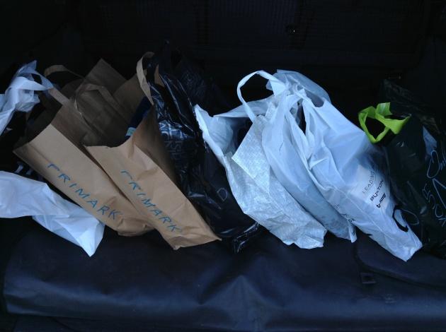 Shopping, shopping, shopping...