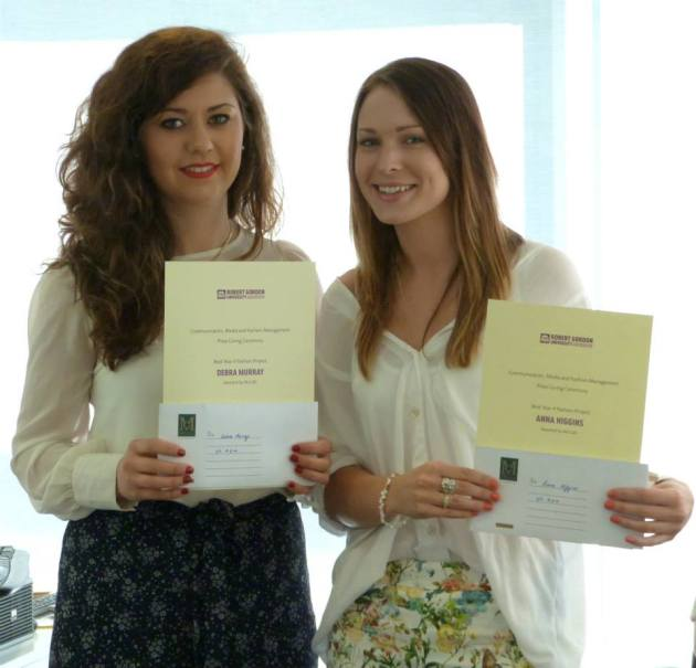 Communication, Media and Fashion Management Prize Giving Event