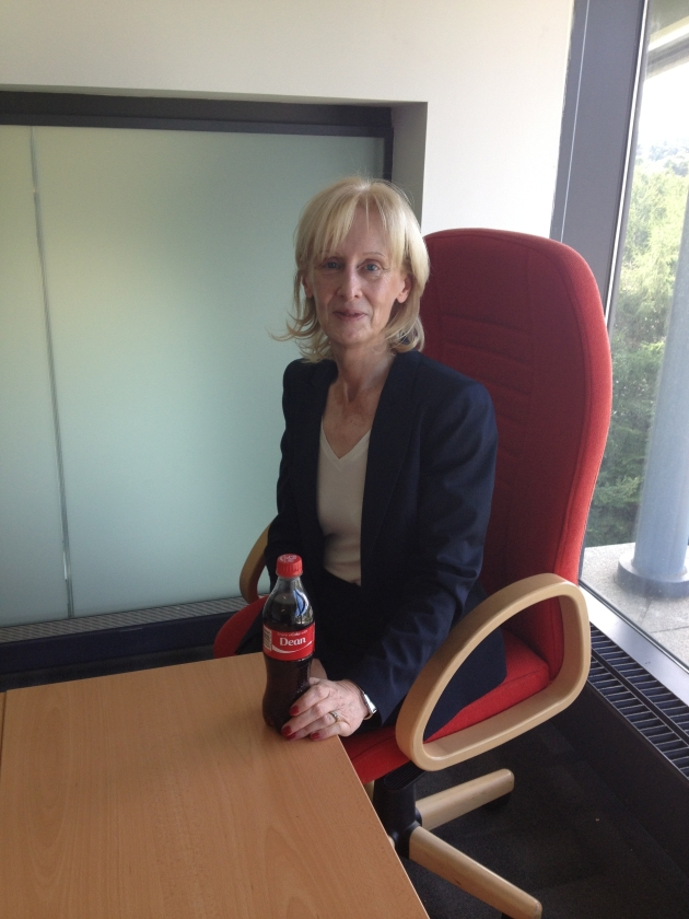 Sharing a Coke with our Dean