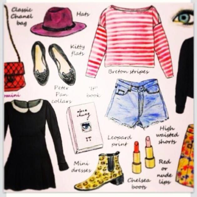 Twelve items